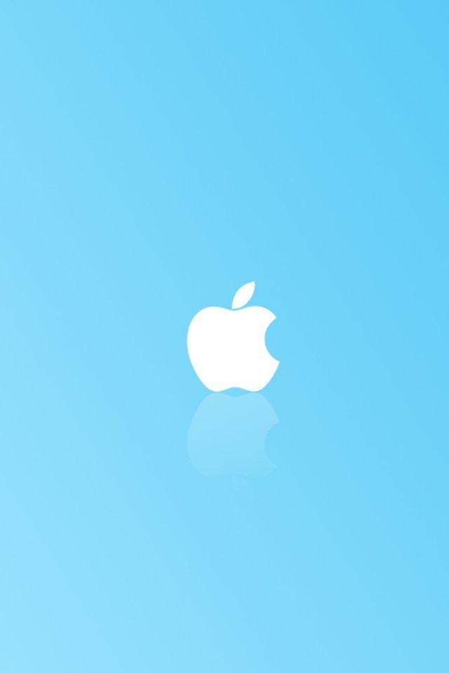 Apple Simple Blue Apple Logo Wallpaper Apple Logo Wallpaper Iphone Apple Wallpaper Iphone Apple simply beautiful iphone wallpapers
