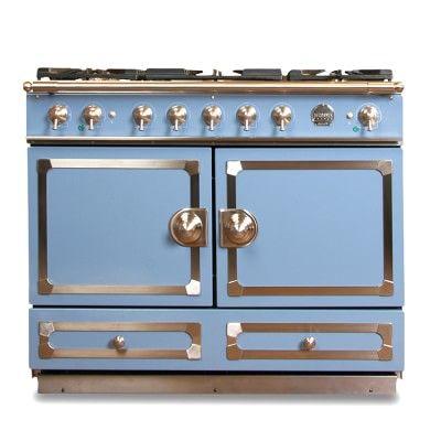 La Cornue Cornuf 233 110 Range Provence Blue Williamssonoma La Cornue La Cornue Stove Blue Ovens