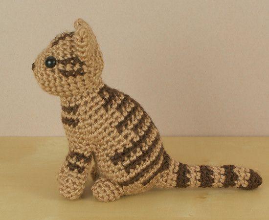 Amicats Tabby Cat Amigurumi Crochet Pattern Cat Amigurumi Tabby