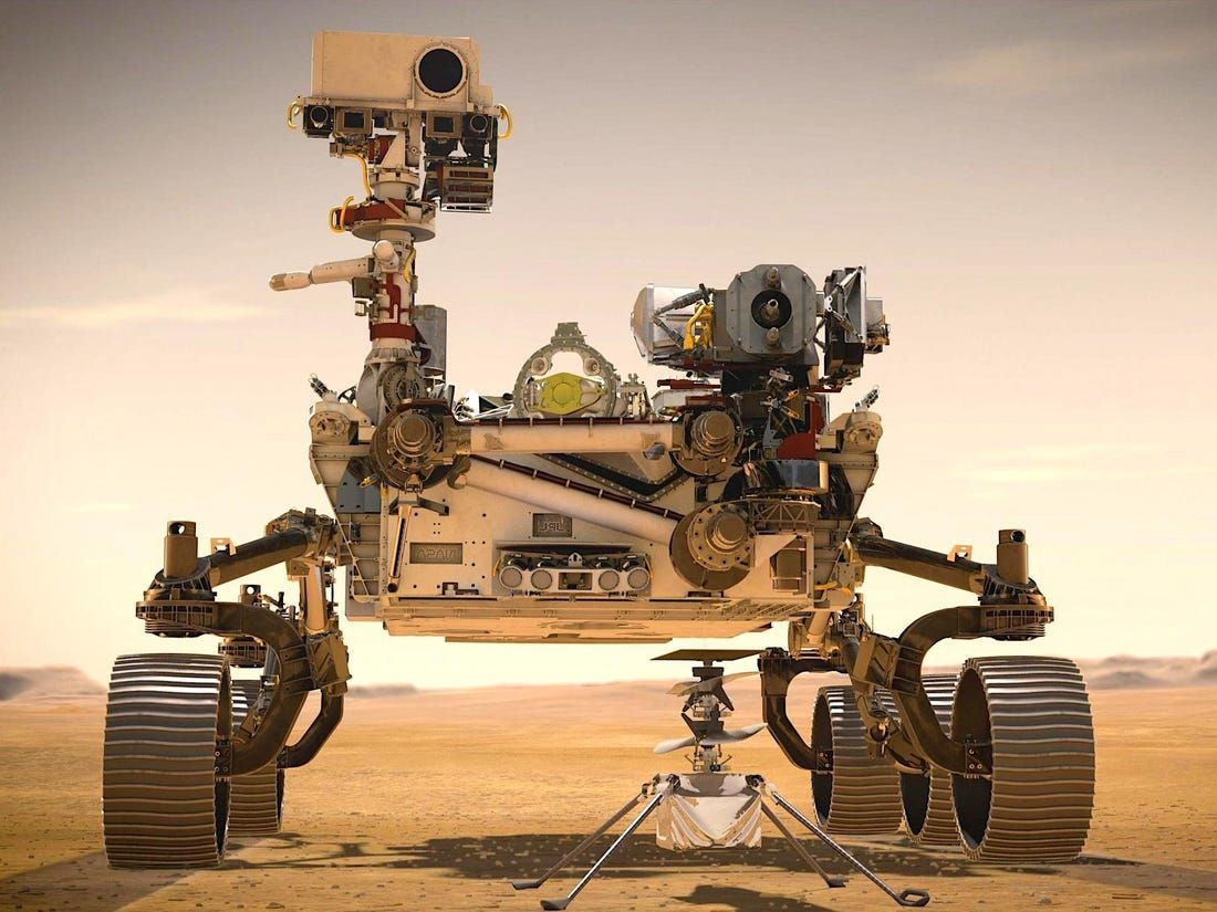The First Ever Space Helicopter Is Approaching Mars In The Belly Of Nasa S Rover It Could Change How We Explore Other Planets Nasa Rover Mars Rover Nasa