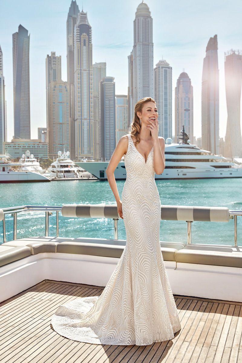 Wedding Dress #SKY114 – Eddy K Bridal Gowns | Designer Wedding ...