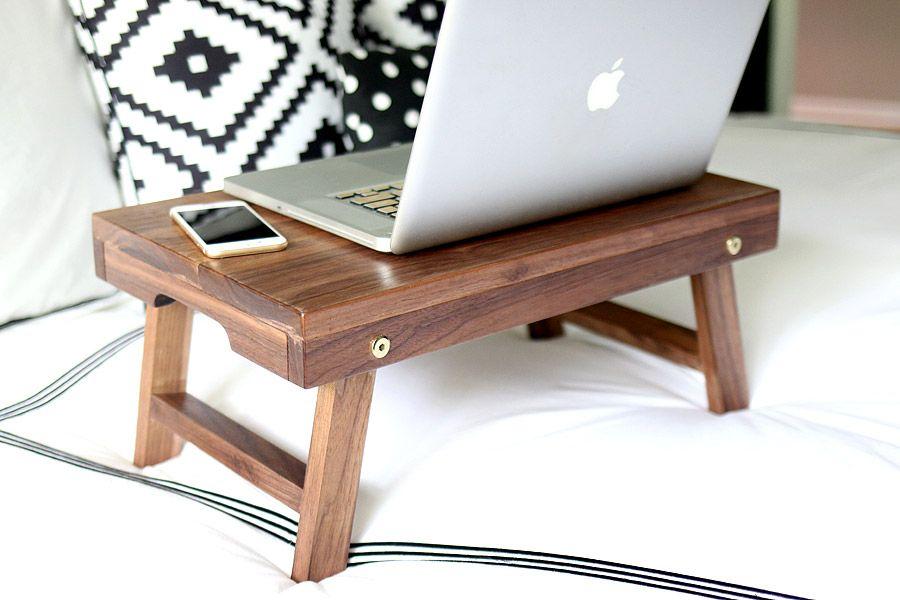 How To Build A Diy Lap Desk Breakfast Tray Folding Lap Desk
