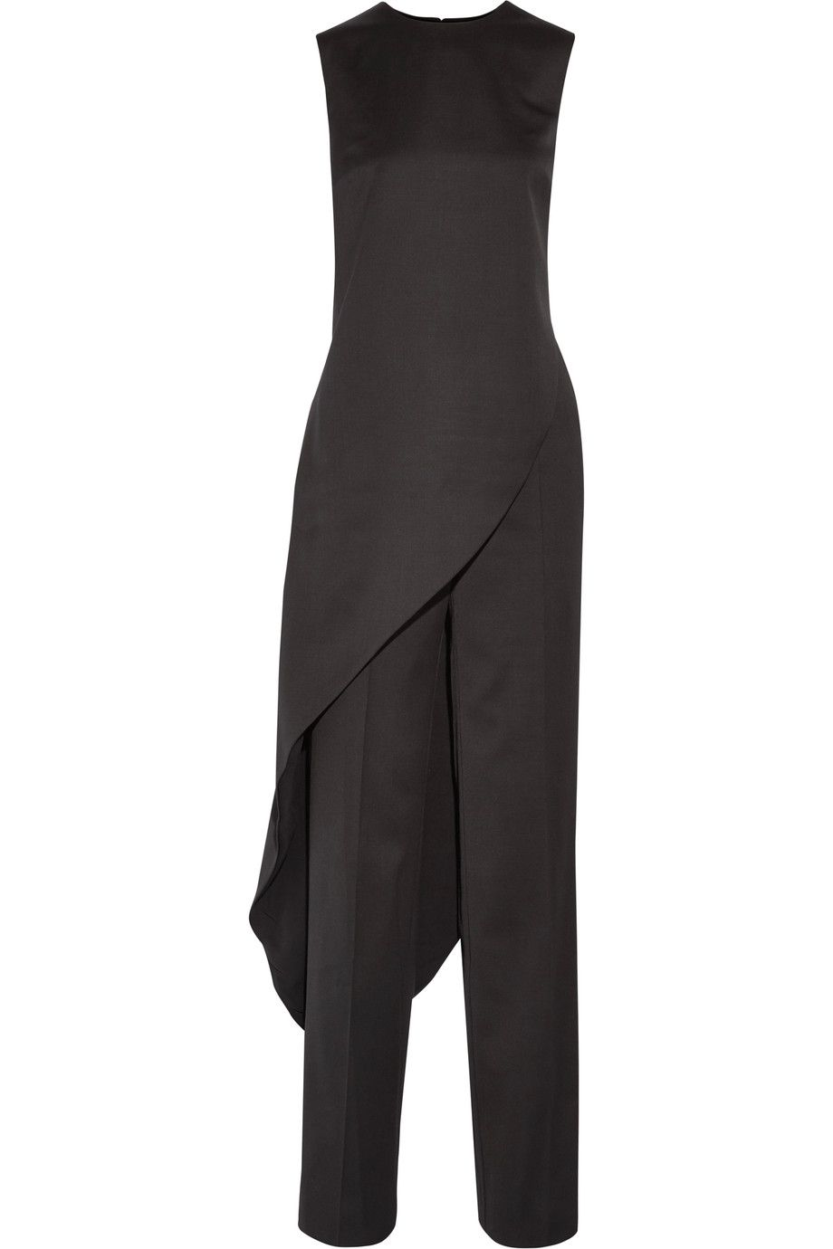 Shop on-sale Esteban Cortazar Asymmetric wool top and wide-leg pants.  Browse other discount designer Jumpsuits & more on The Most Fashionable  Fashion Outlet ...