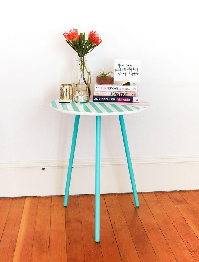 ▷ 1001+ idées originales pour une table relookée à bas prix - peinture pour relooker meuble en bois