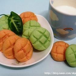 고소한 코코넛 딸기&메론 쿠키