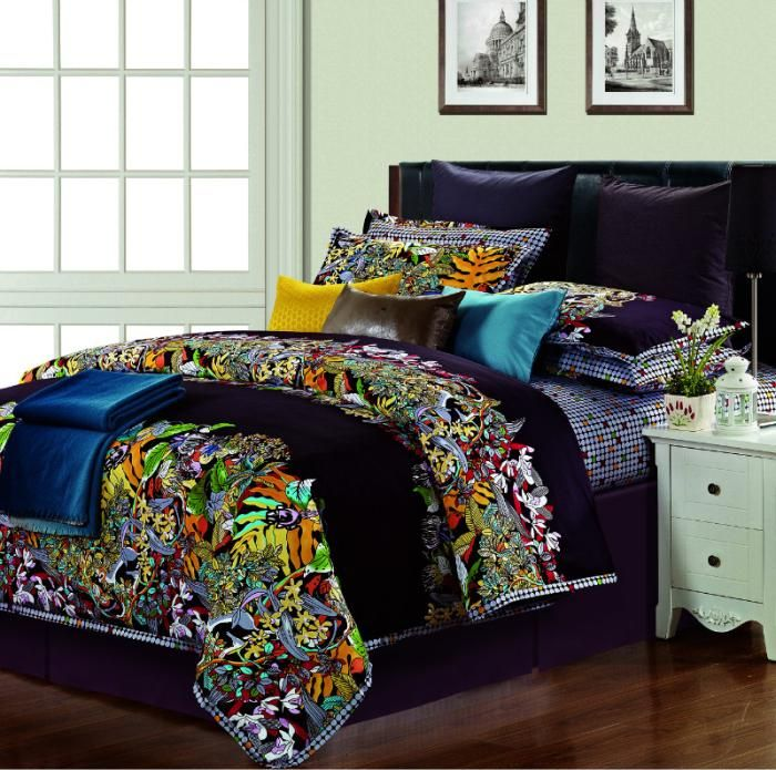 Colorful Comforter Sets Queen Colorful Bedding Sets Luxury