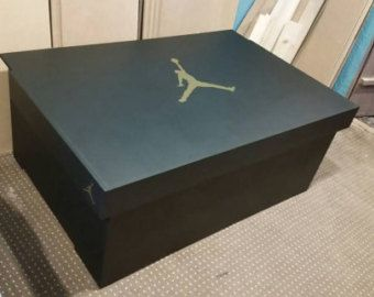 789e6ae32d293 XL Giant Trainer / Sneaker Storage Box Nike Air by UniqueWallsuk ...