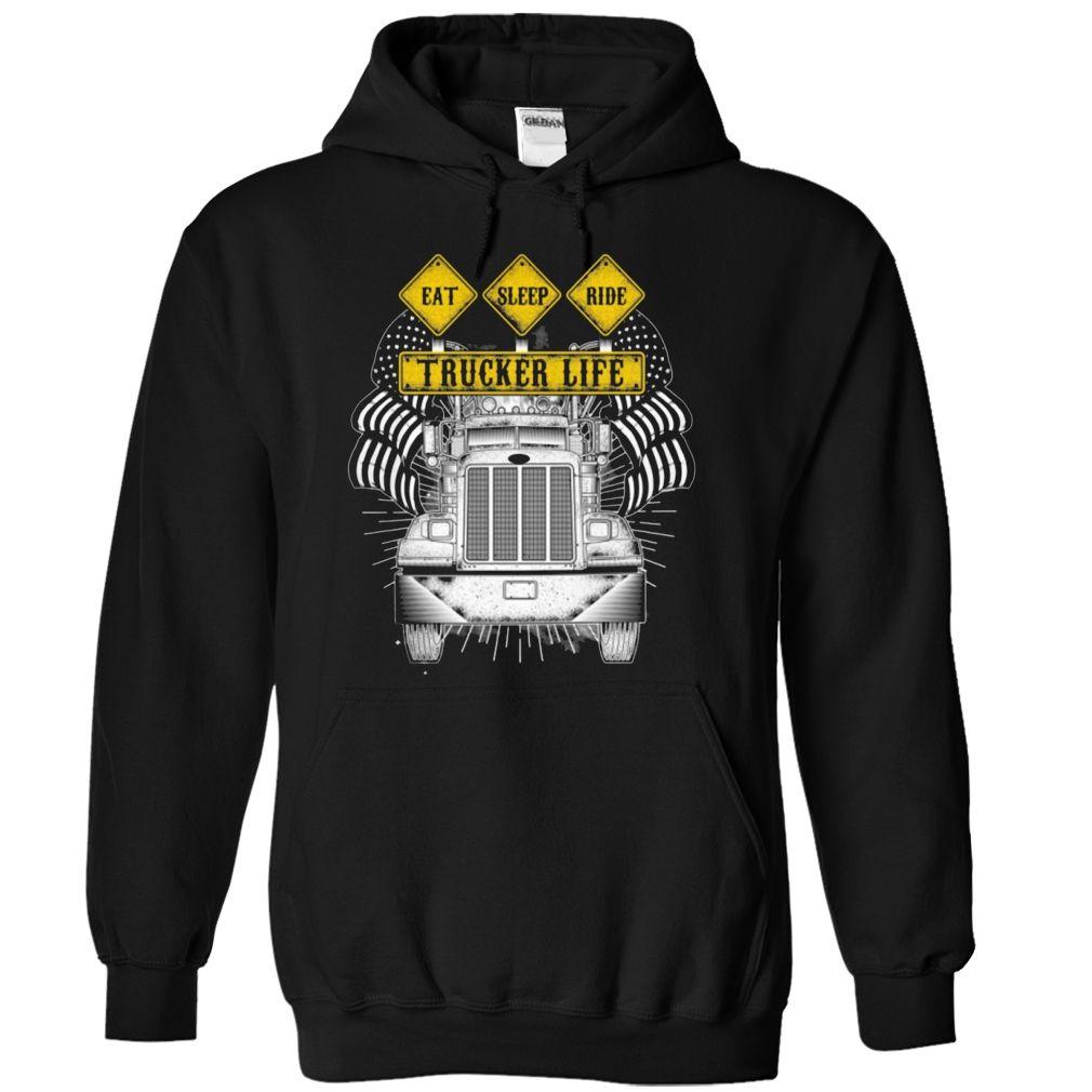 Best Trucker T-Shirts, Hoodies. GET IT ==► https://www.sunfrog.com/No-Category/Best-Trucker-Shirt-9393-Black-Hoodie.html?id=41382