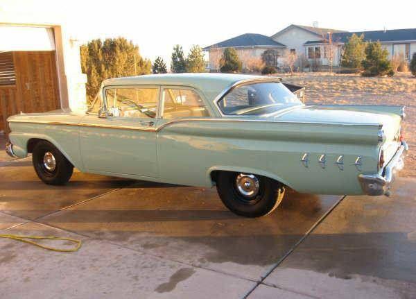 1959 Ford Custom 300 2 Door Sedan 223 3 Speed By Hartog Via