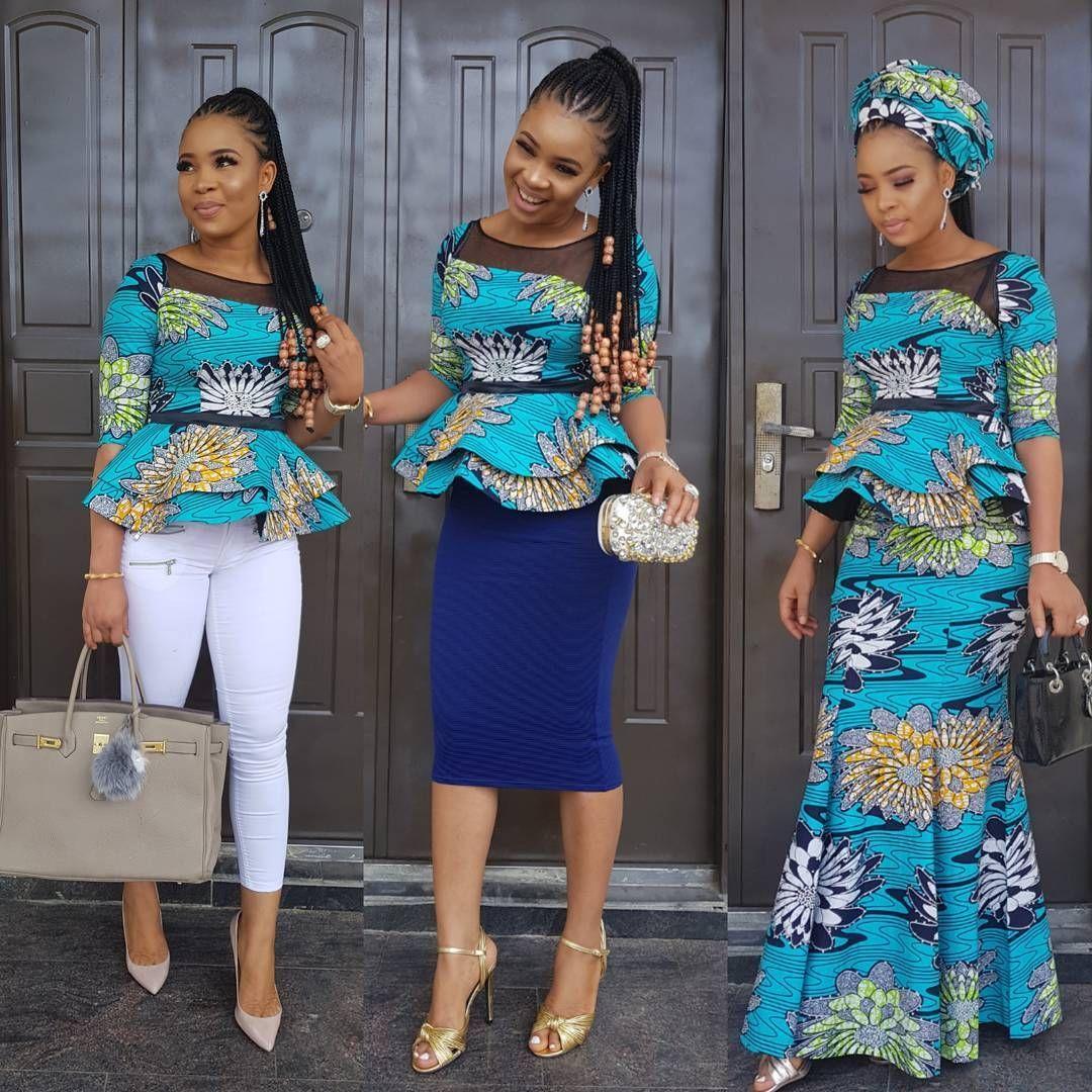 Stylish Ankara Styles For Ladies