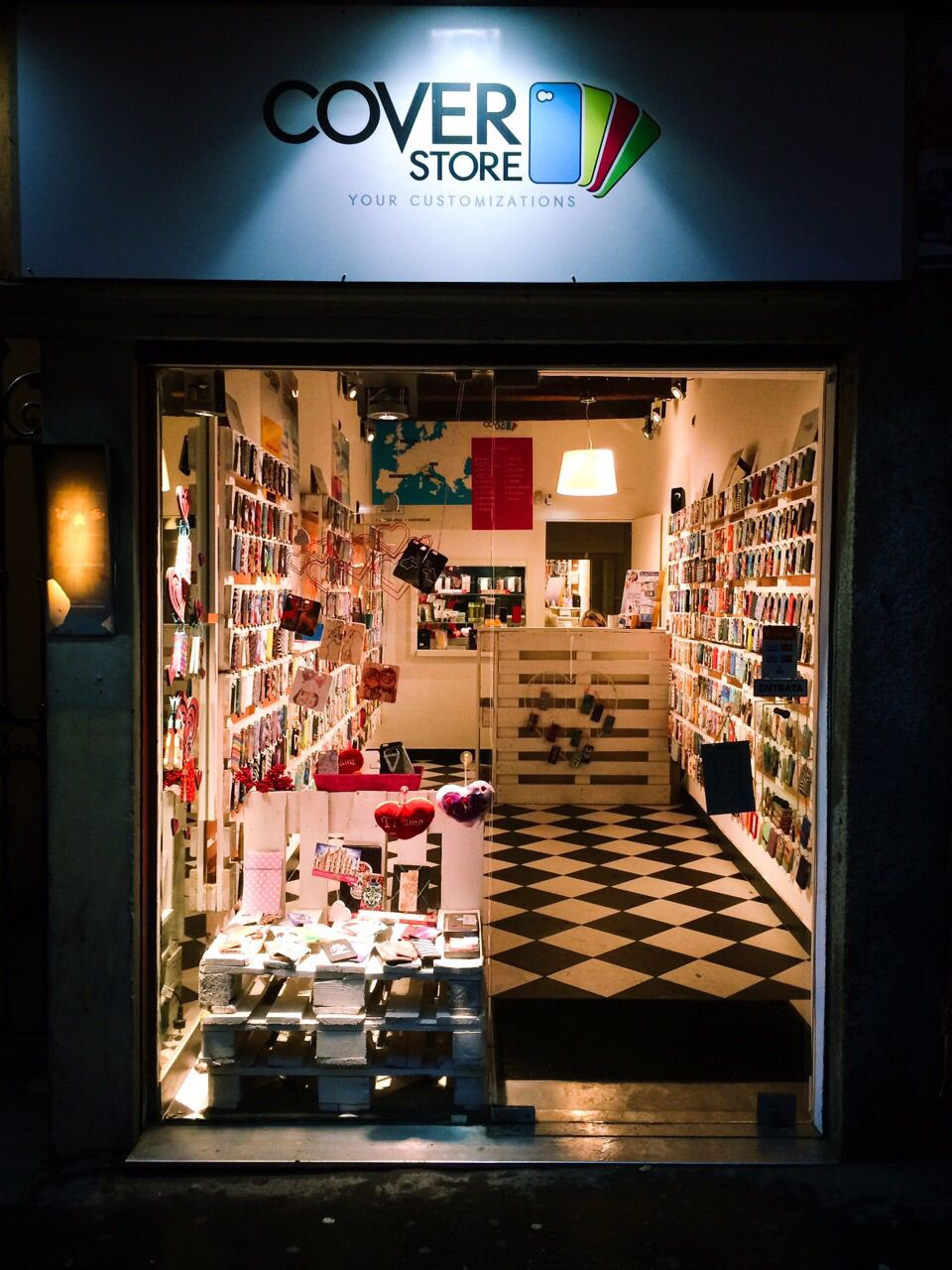 cover store milano