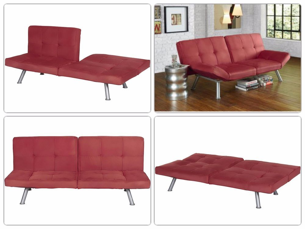 Contemporary Convertible Sleeper Sofa Loveseat Living Room