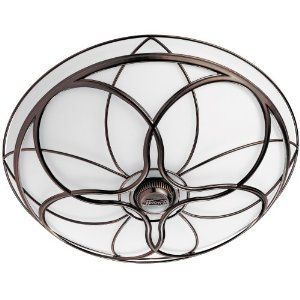 lighted bathroom exhaust fans