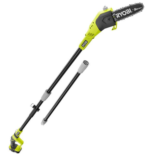 Direct Tools Ryobi One 8 In Lithium Ion Pole Saw Pole Saw