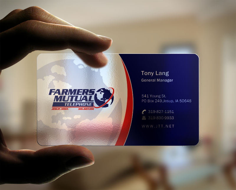 Create fun edgy business card for Cutting edge Internet Provider by ...