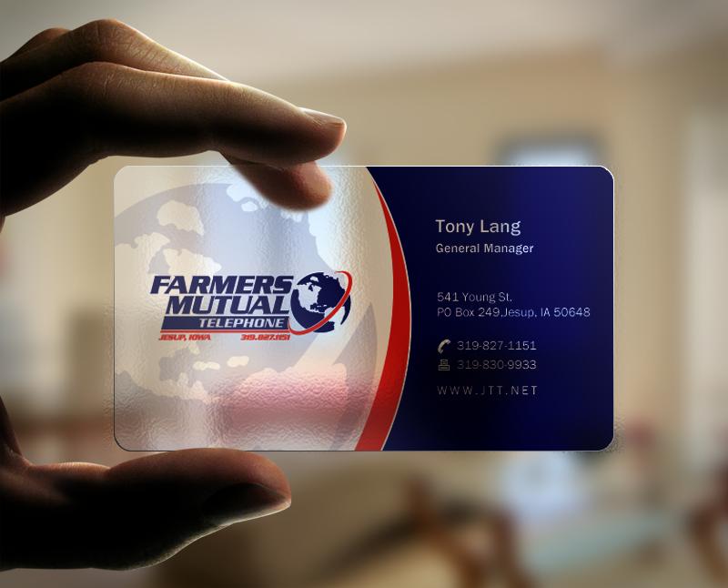 Create fun edgy business card for Cutting edge Internet Provider ...