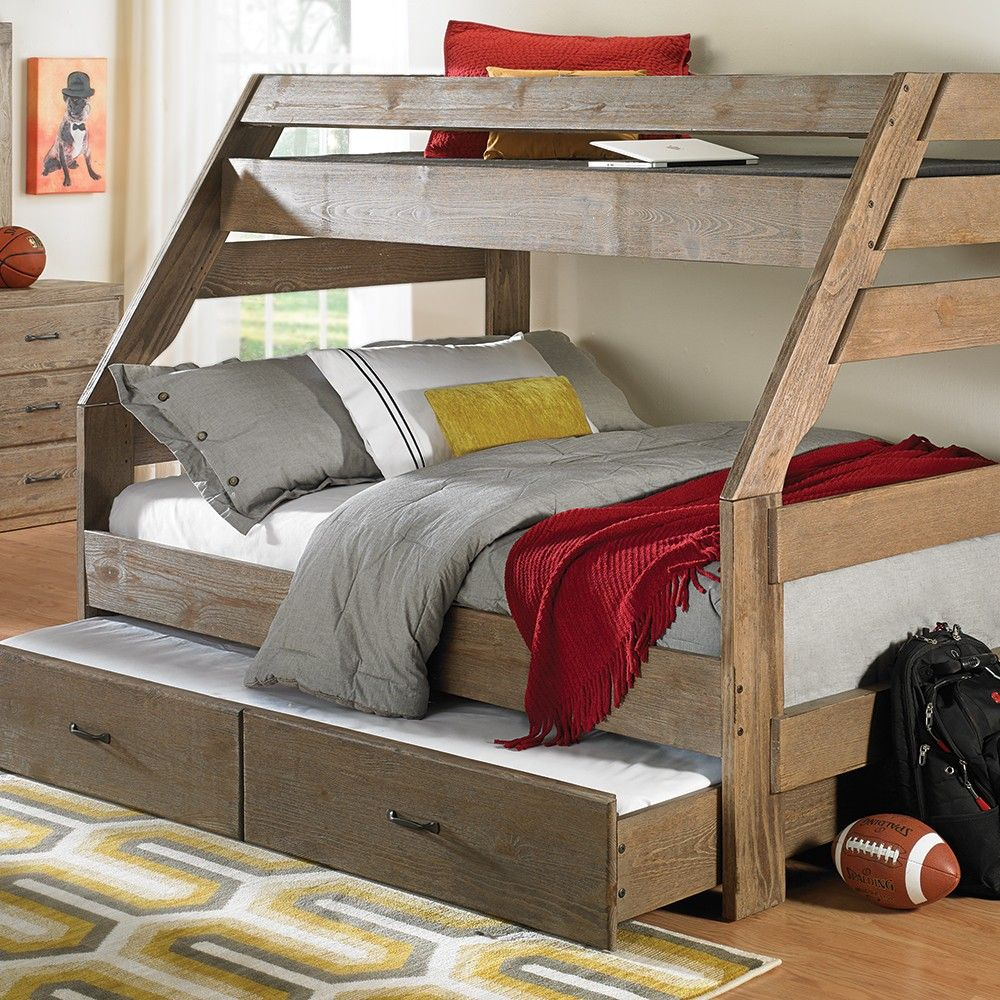 Tucson Captain S Twin Over Full Storage Bunk Bed