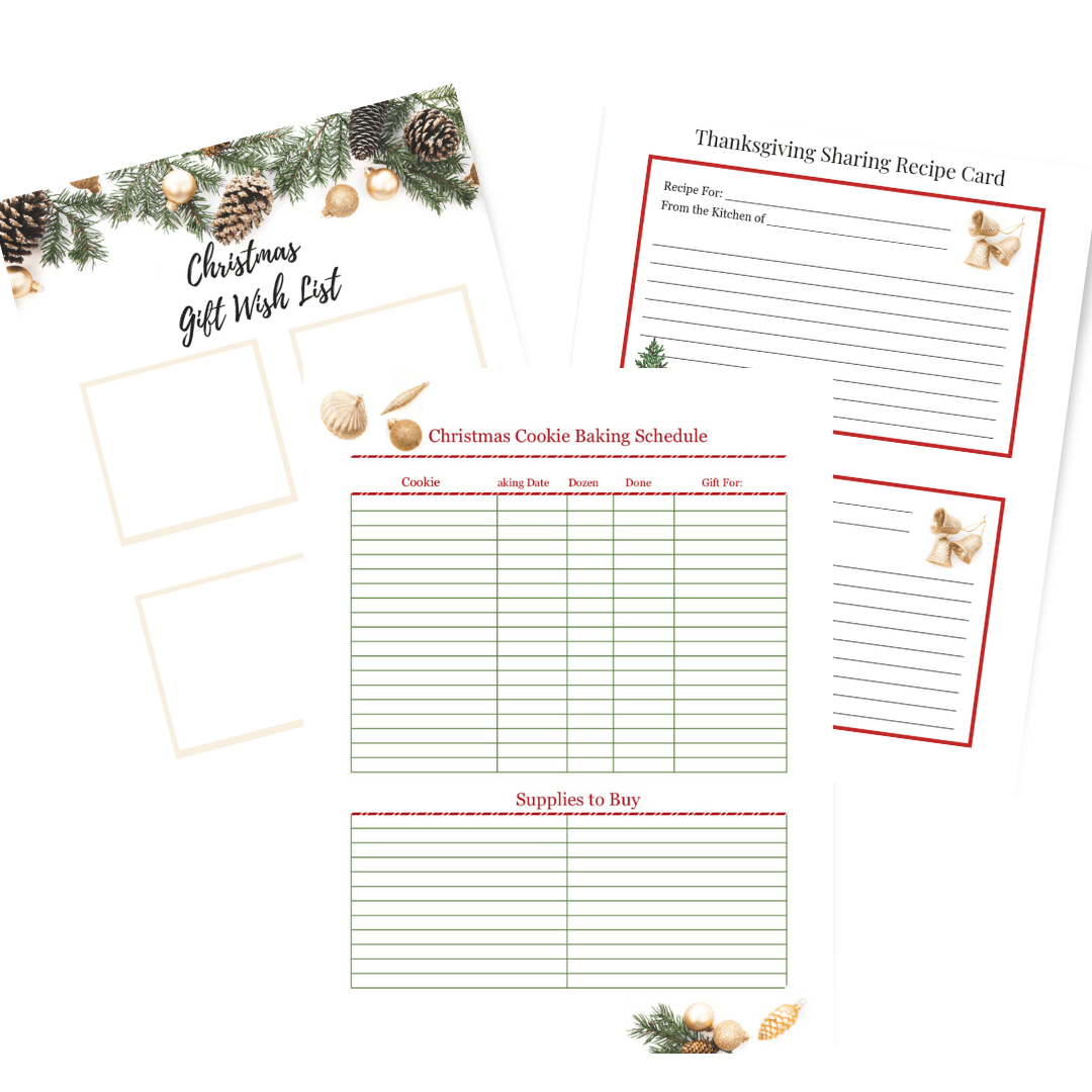 The Ultimate Christmas Planner Has Everything You Need To