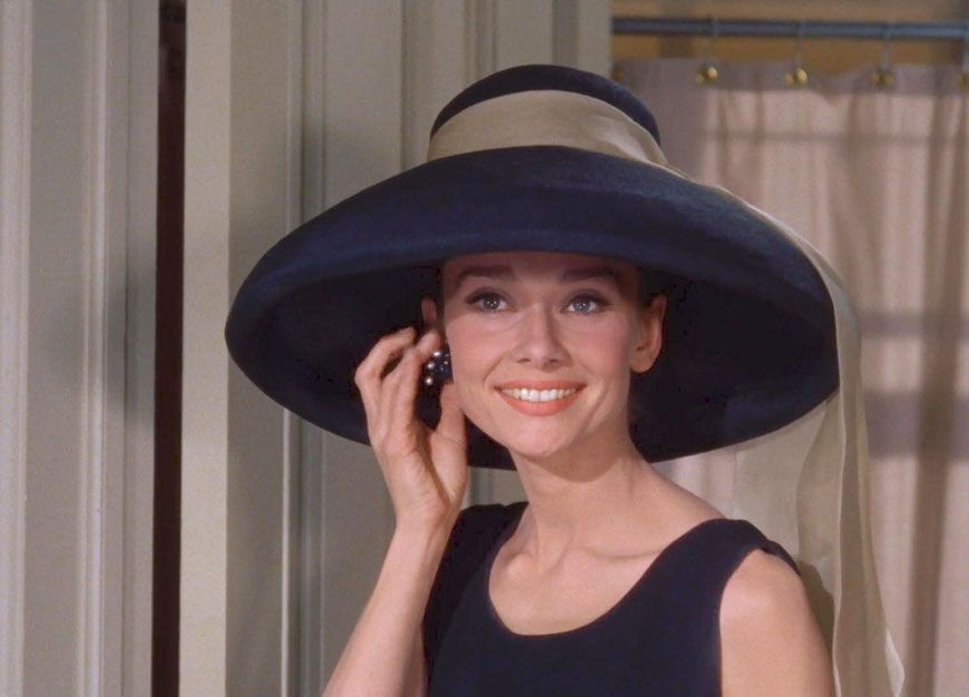 a0990385be97 Audrey Hepburn in Givenchy for Breakfast at Tiffany s