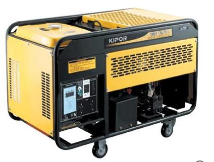Kipor Type Gasoline Generator Kge13ea Generation V Engine Type