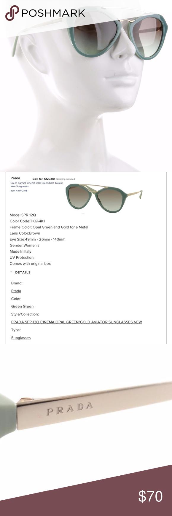 c880bc681c54 ... australia prada sunglasses prada sunglasses mint condition never worn  acetate metal aviator sunglasses b89fa 75185