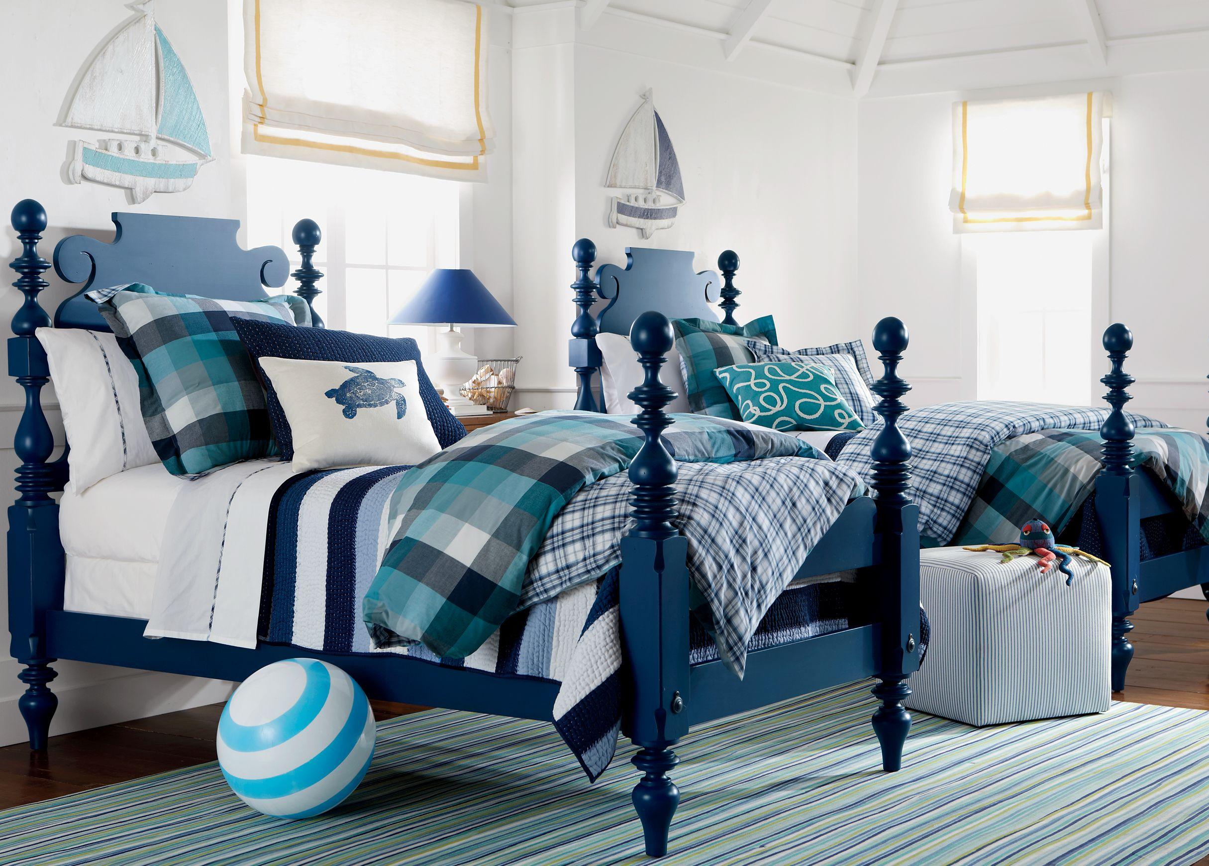 bayside bedroom  ethan allen  bed linens luxury room