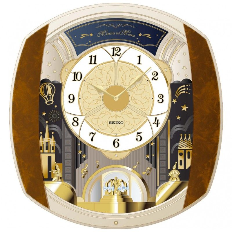 Melodies In Motion Marquis Musical Wall Clock Seiko