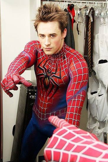Reeve Carney as Spiderman