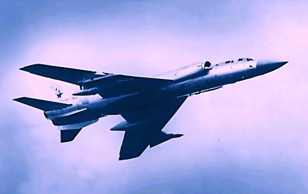 Tupolev Tu-128 was the biggest interceptor in the world.