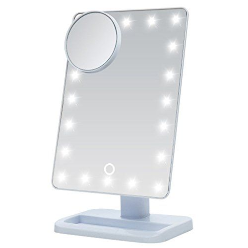 Ssouth Makeup Mirror With Light Battery Operated Illuminated Vanity Mirror With 10x Magnifying C Makeup Mirror With Lights Mirror With Led Lights Beauty Mirror