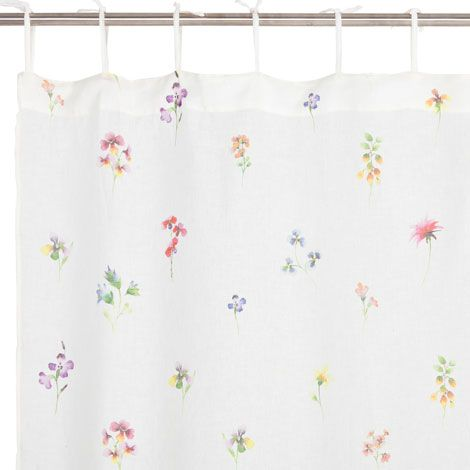 Tenda Lino Fiori   Tende   Decorazione | Zara Home Italia