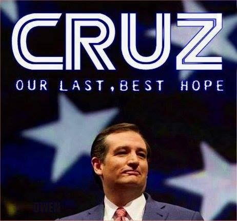 'Bold, determined, principled, committed, resolute, sturdy, grounded and honest. That's our 'guy.' #TedCruz2016