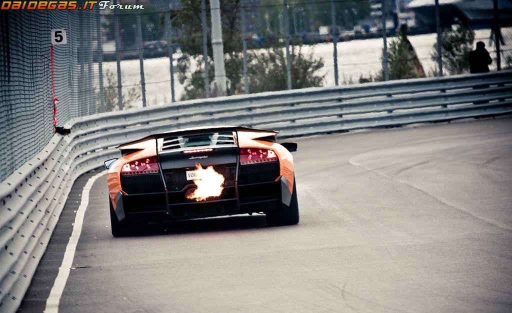 Lamborghini Murcielago SV Backfire