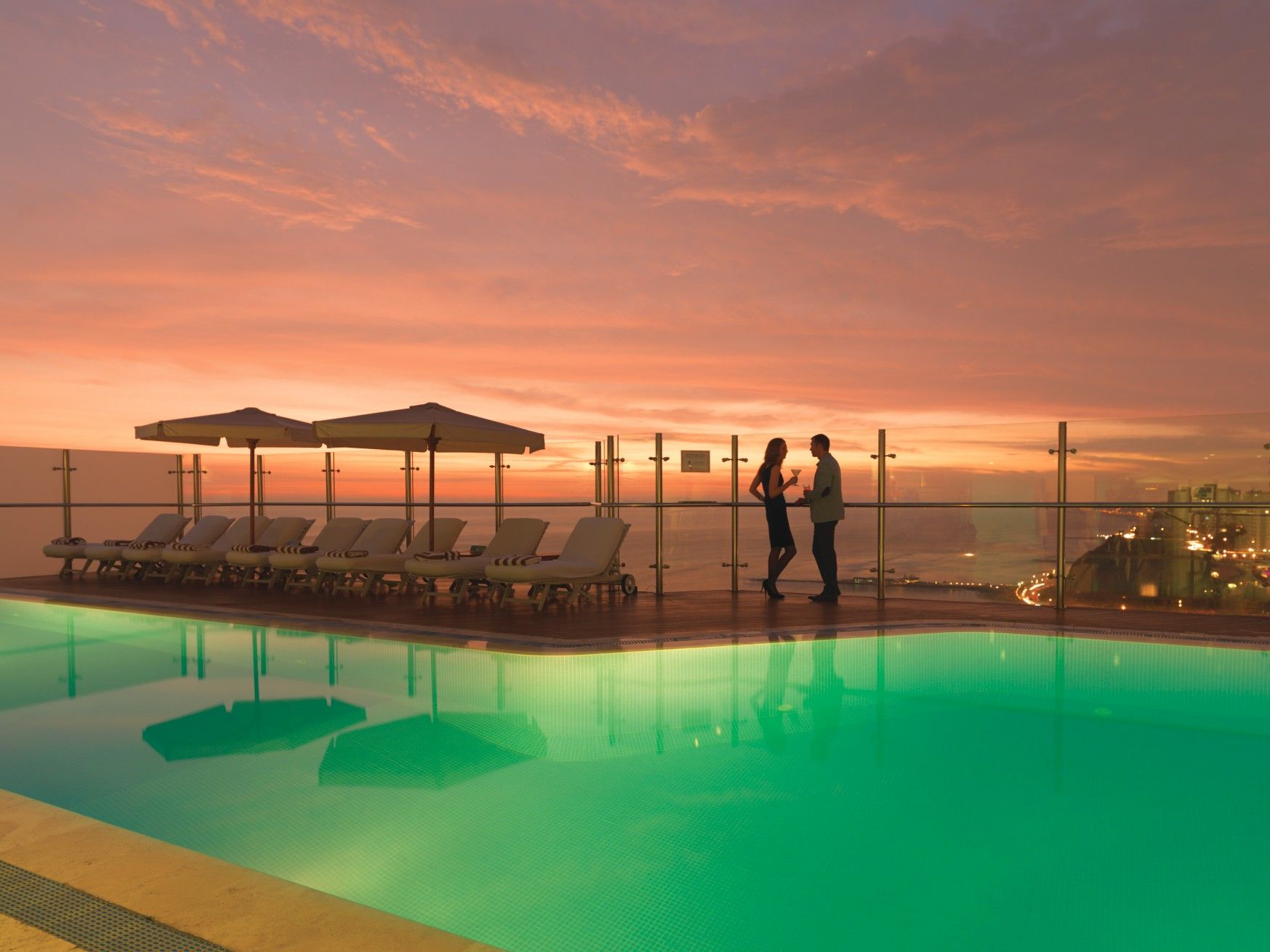 The Rooftop Pool At Belmond Miraflores Park In Lima Is A Super