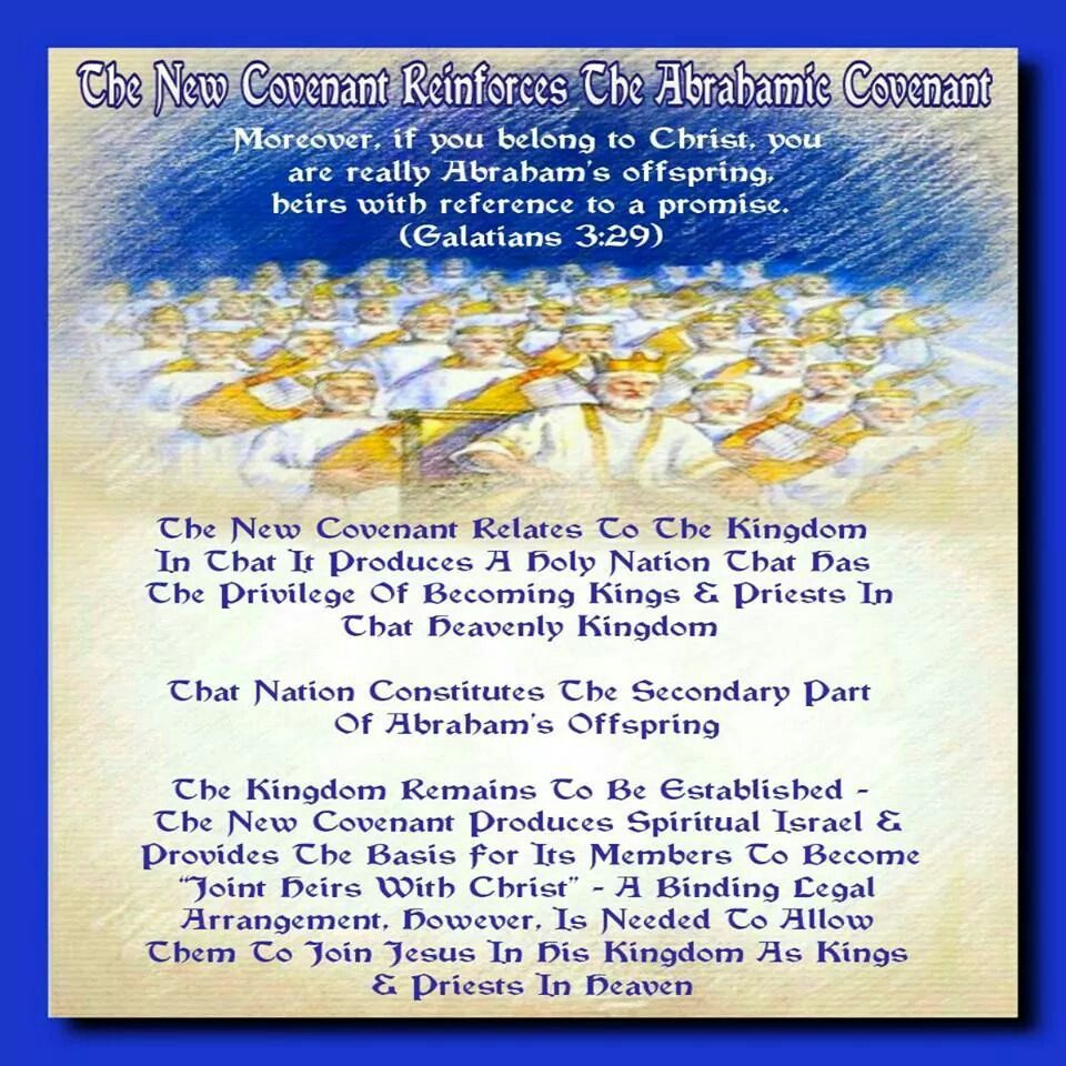 The New Covenant Reinforces The Abrahamic Covenant // The