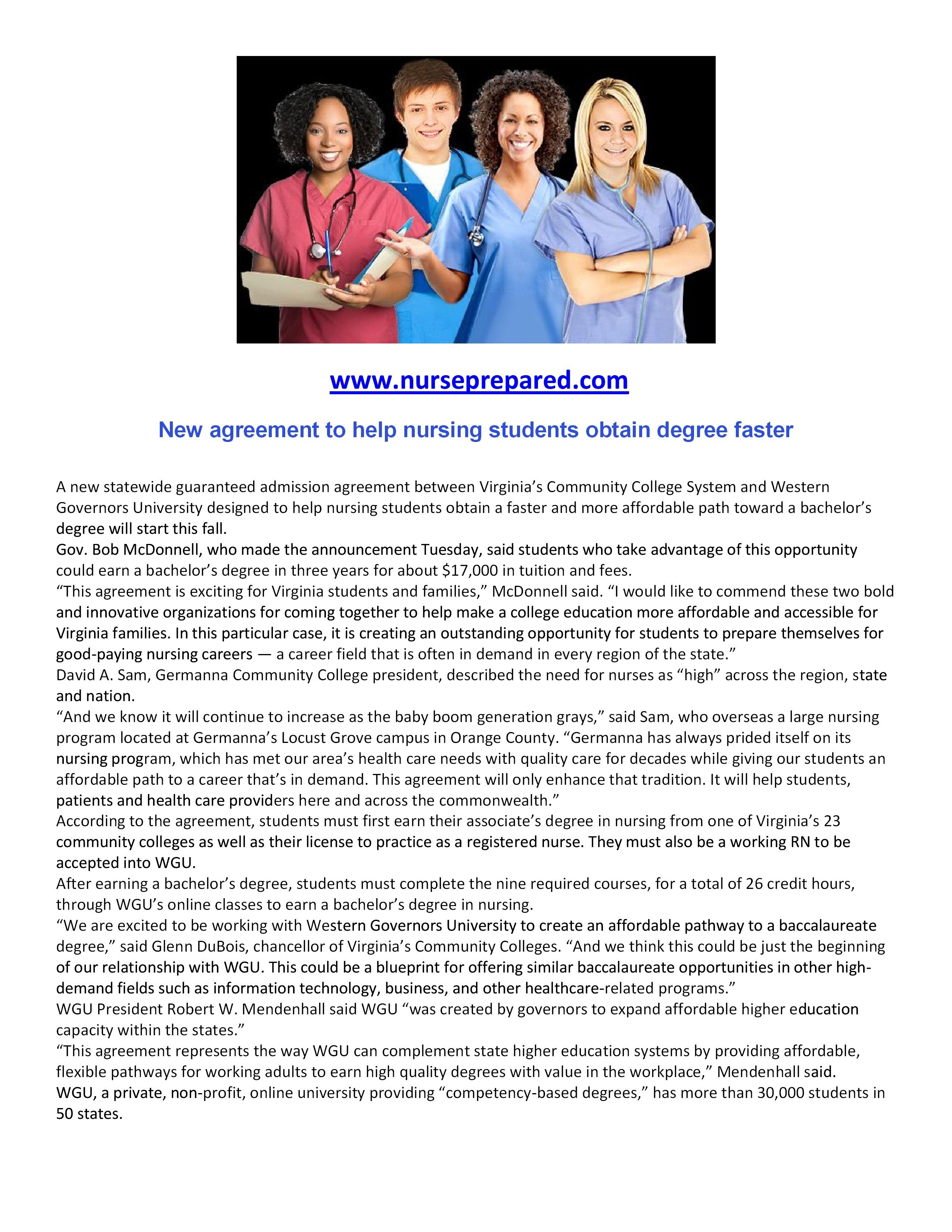 how to obtain your nursing degree faster