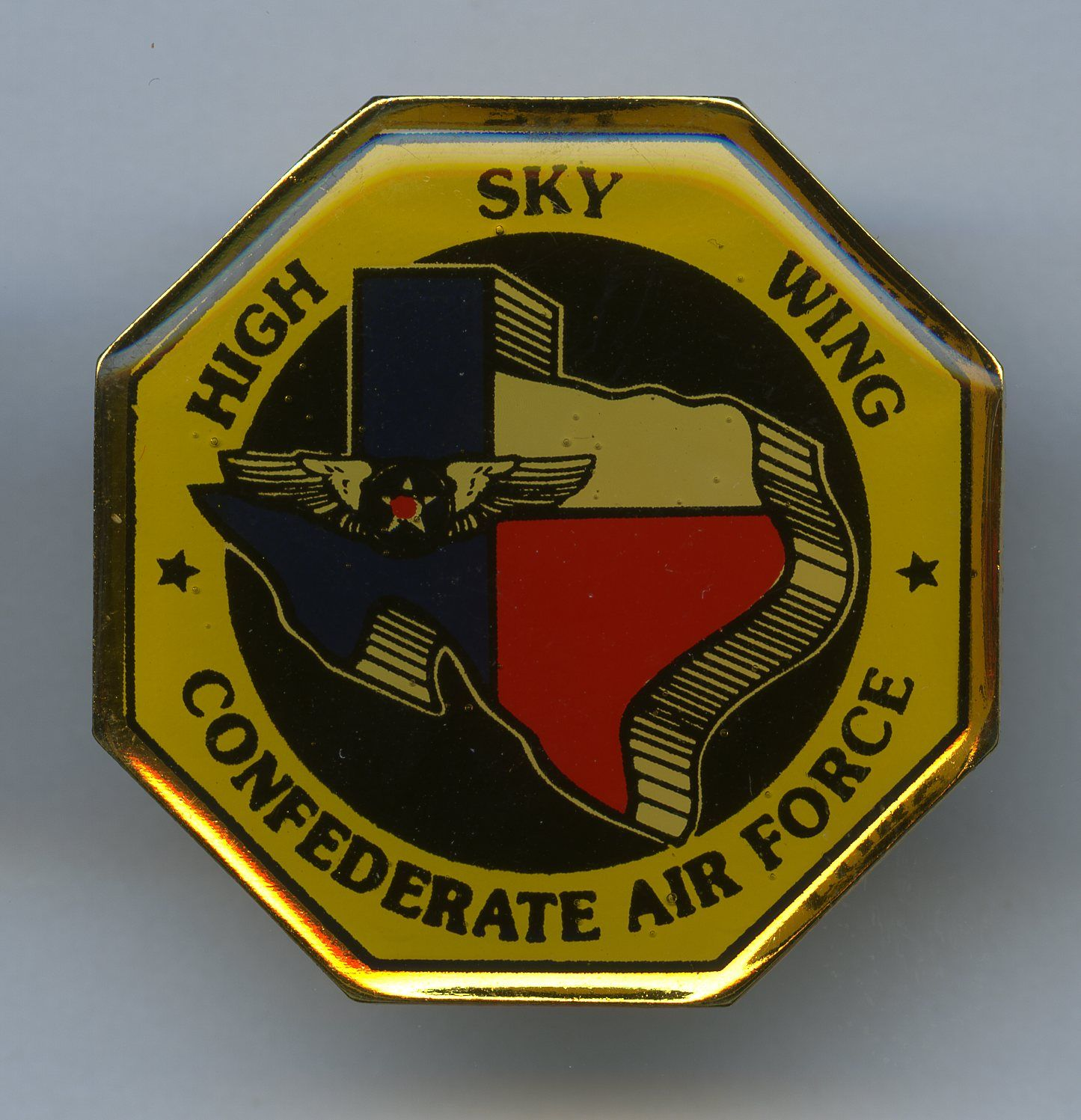 Confederate Air Force Sky High Wing Confederate, Air force