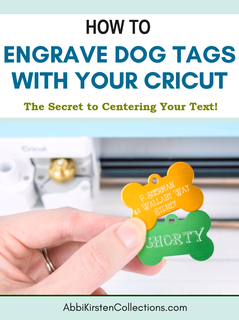 How to Engrave Dog Tags with Your Cricut Maker Quickswap Tool