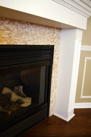 Fireplace tile - exactly what I was looking for!