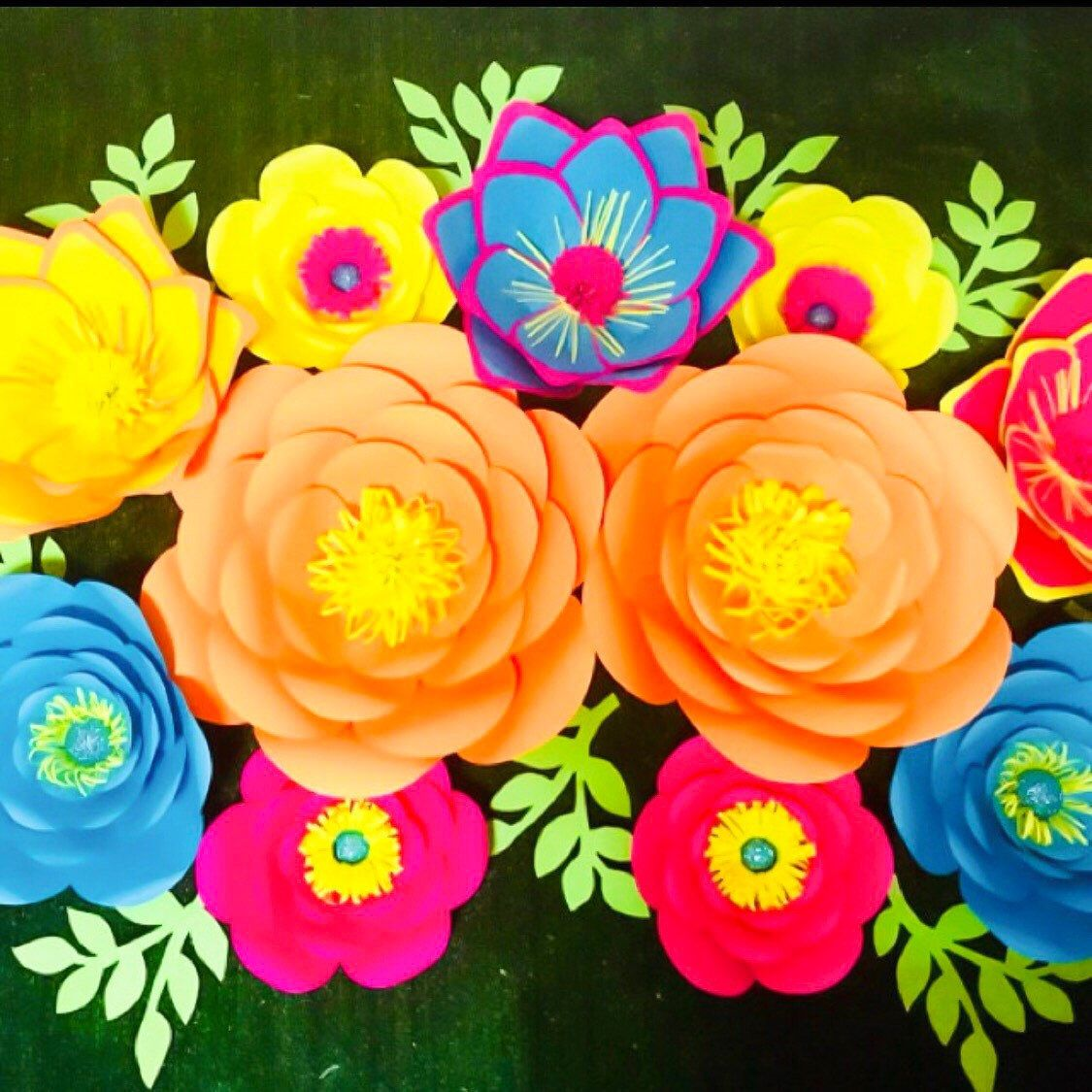 Heres A Gorgeous Paper Flower Set Made By My Talented Template
