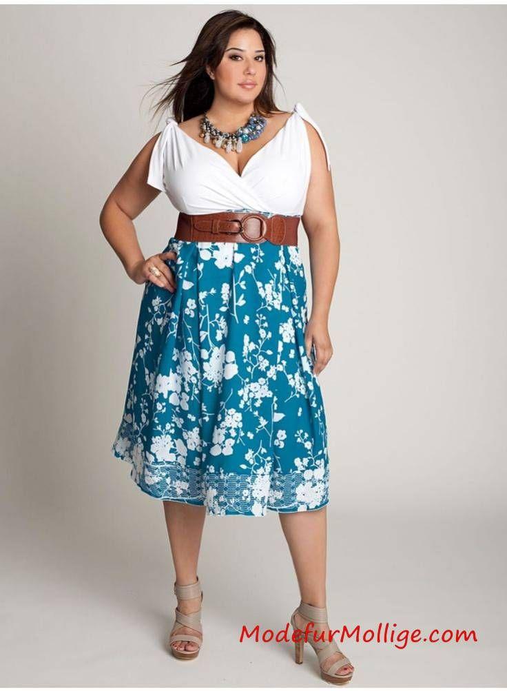 Sommermode: Große Größe Outfit Ideen für den Frauen in ...
