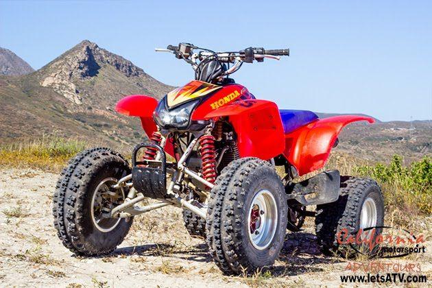 Honda Trx 400-EX full manual transmission quad | #letsatv ...