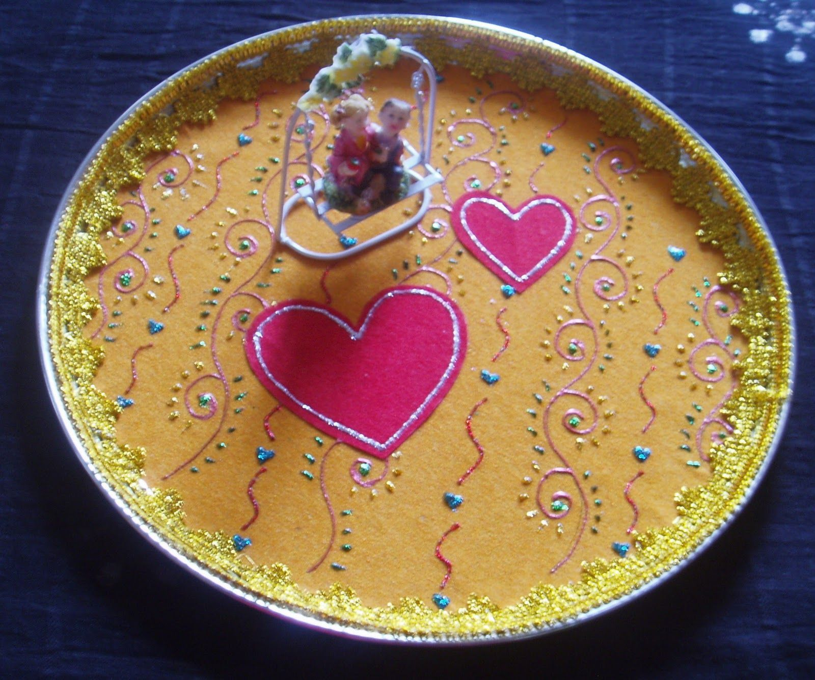 Bride and Groom Decorated Plate & Bride and Groom Decorated Plate   Aarathi(Decorative Plates ...