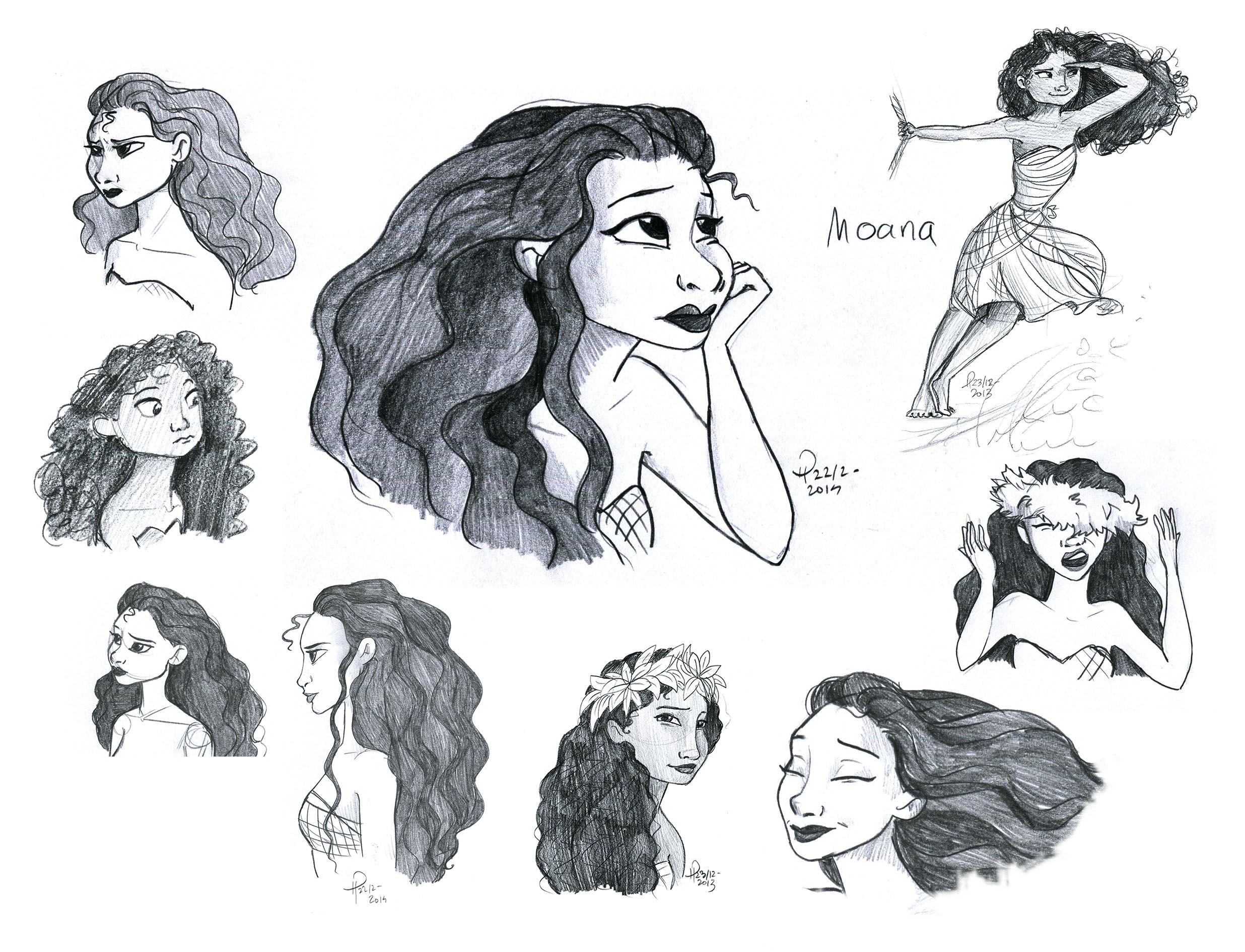 Moana Disney Character Design : Moana character concept art pinterest