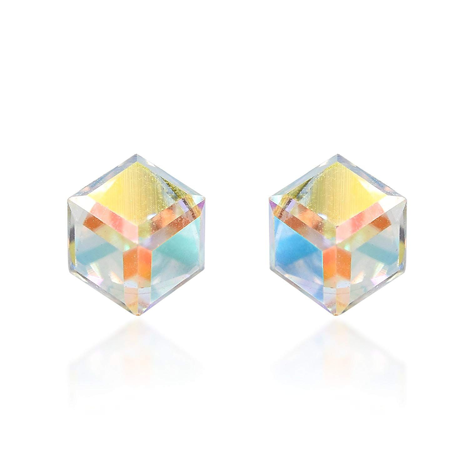 b5937abcc0ea7 Lotus Fun S925 Sterling Silver Stud Earrings Honeycomb Home Guard ...