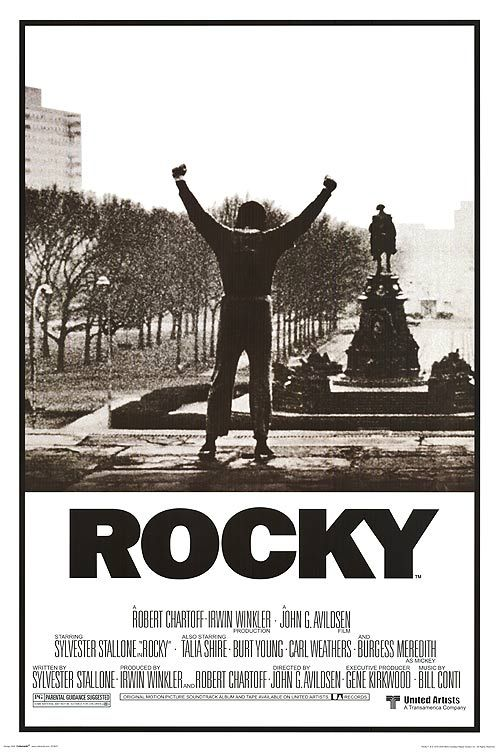Rocky Movie Posters At Movie Poster Warehouse Movieposter Com Rocky Poster Classic Movie Posters Movie Posters Vintage