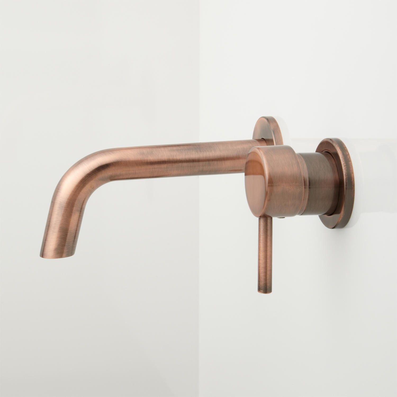 Rotunda Wall-Mount Bathroom Faucet | Faucet, Wall mount and Wall ...