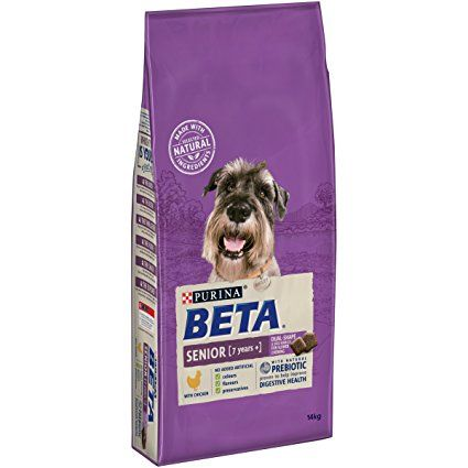 Purina Beta Senior Dry Dog Food With Chicken 14 Kg Dog Food Dog