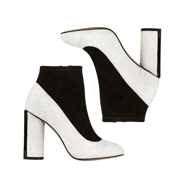 The Indecisive Girl's Guide To Fall Footwear   The Zoe Report The Whoe-BOOT Hybrid Color Block Shoe Boots, French Connection $175