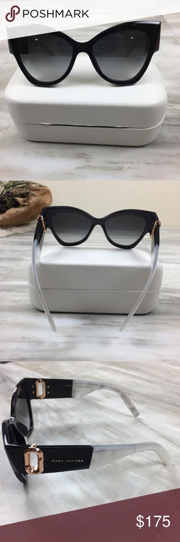b0dee674593 Marc Jacobs 55mm Cateye Sunglasses Black   Pearl Brand new in original  packaging. Cat eye